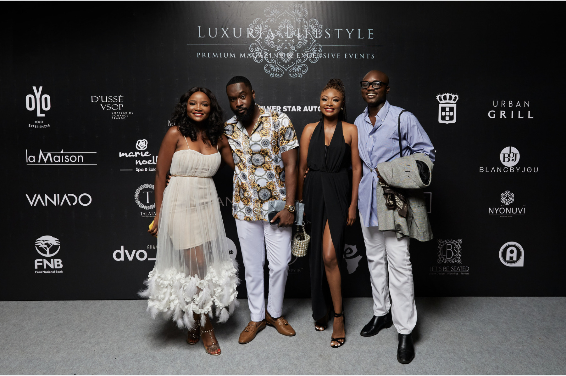 LUXURIA LIFESTYLE GHANA LAUNCH EVENT AND LUXURY BRANDS SHOWCASE / VIP PARTY, YOLO EXPERIENCES ACCRA NOV 2020